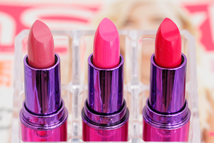 Makeup Revolution: I Heart Makeup Lip Geek Lipsticks