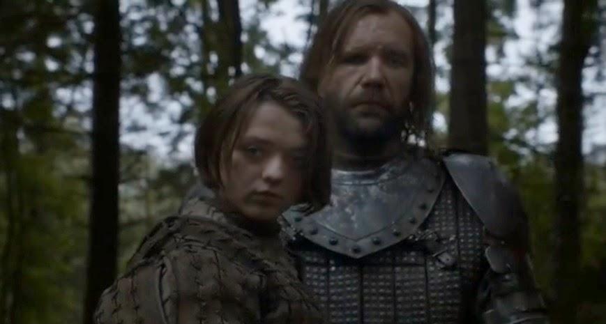 Arya y el Perro episodio 4x01 - Juego de Tronos en los siete reinos