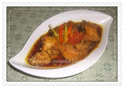 Resep Masakan Ayam, Olahan Ayam, Pindang Ayam Pedas
