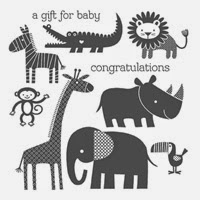 Zoo Babies, Stampin' Up! baby cards
