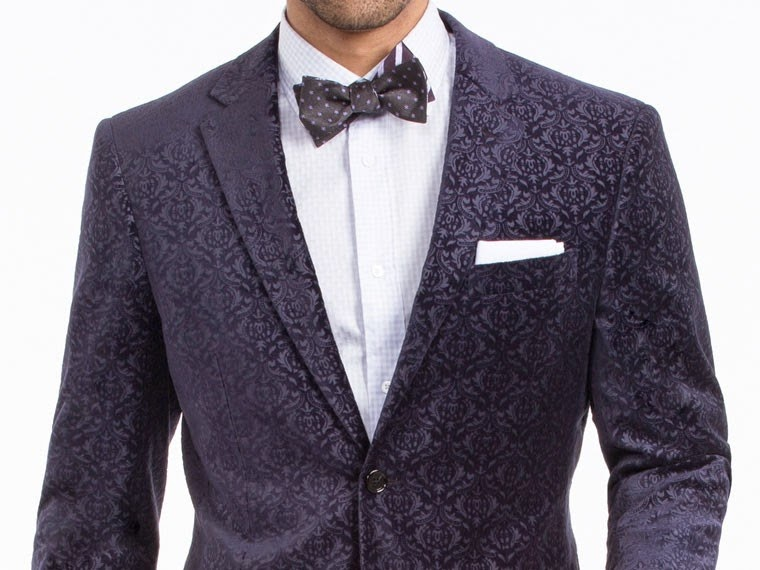Indochino Paisley Velvet