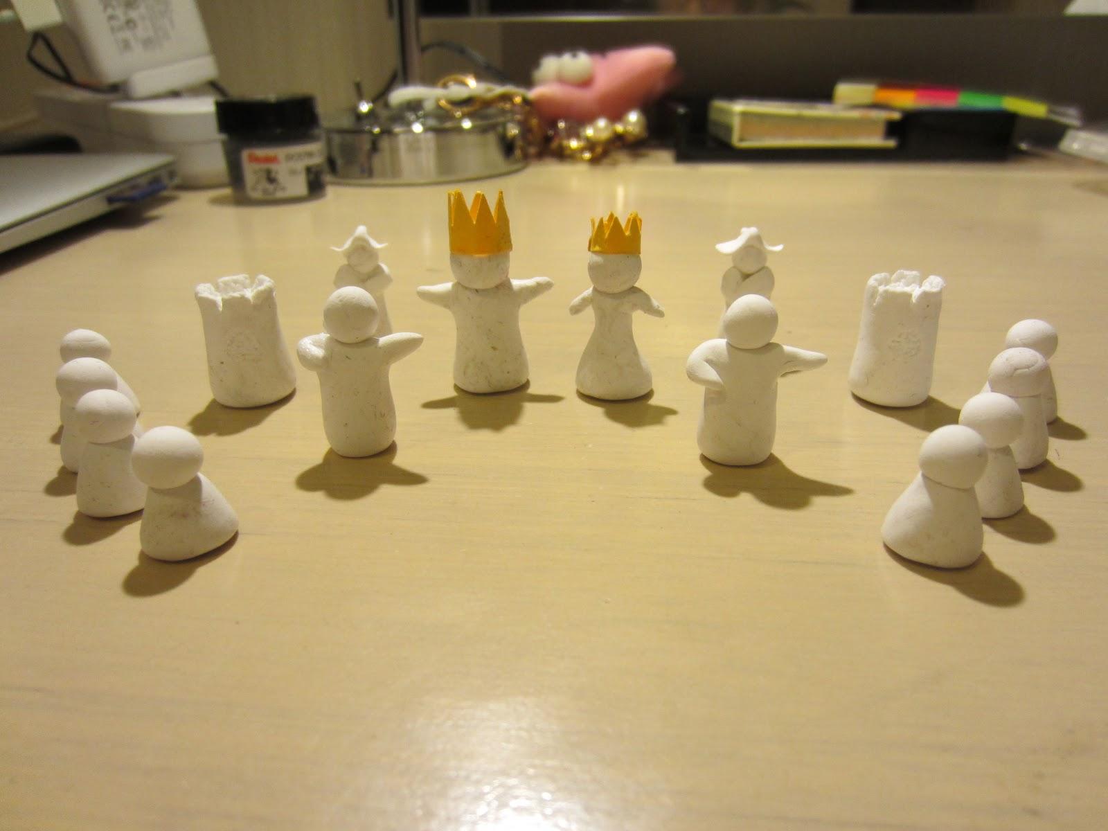 diy chess set the scarlet crossing