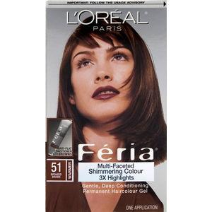 Loreal Feria Loreal Feria Hair Color Chart