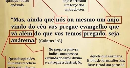 Resultado de imagem para gálatas 1:8