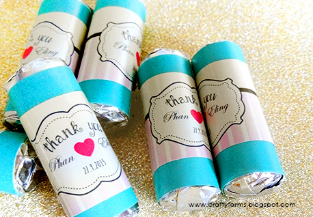 Pastel Theme Mint Candy Wedding Door Gifts and Favours Malaysia