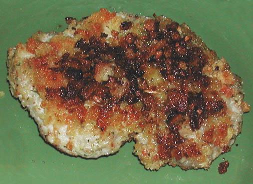The Iowa Housewife: Oven Fried Pork Chops