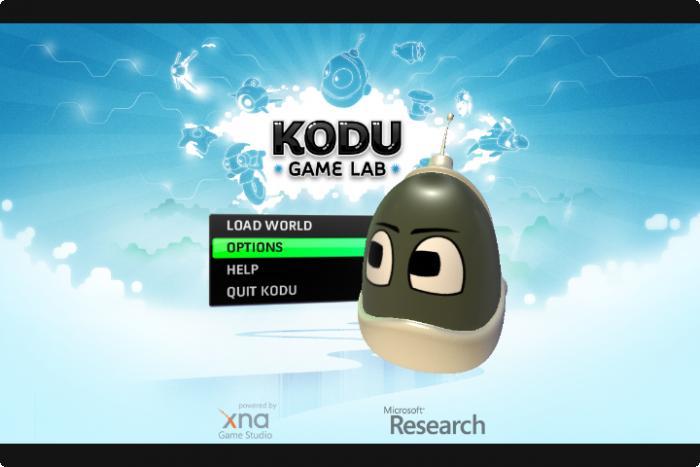 kodu game lab game