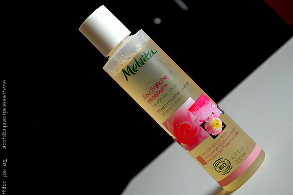 Melvita Fresh Micellar Water Makeup Remover Beauty Blog Reviews Ingredients How To Use Toners Organic Natural Skincare