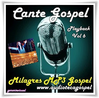 Diante do Trono - Cante Gospel - Playback - Vol.06
