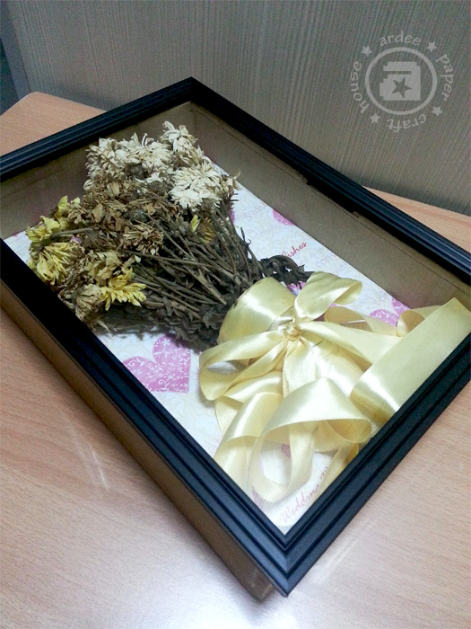 Shadow Box Bouquet | ardee\'s creation
