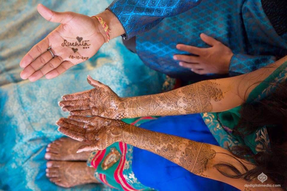Dulhan Mehndi Designs For Full Hands 2014 : Beautiful latest simple arabic pakistani indian bridal