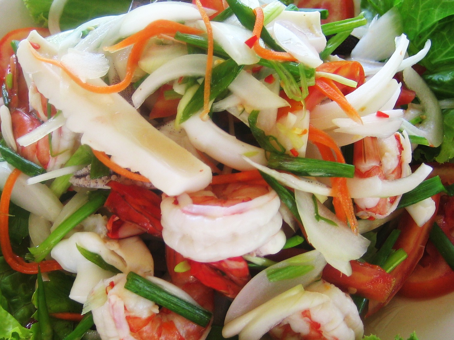 Cook with Chef Duminda: Fresh Seafood salad