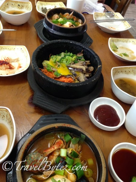 Seafood Lunch Korean Style - JEJUDOKBAEKI (제주똑배기)
