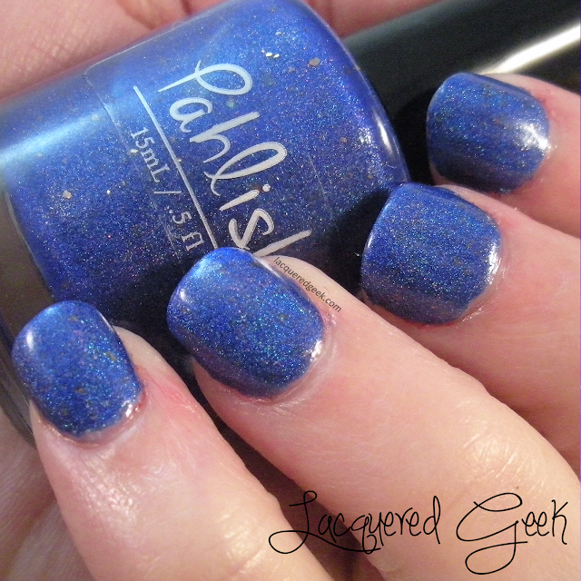 Pahlish The Moon is an Egg nail polish swatch