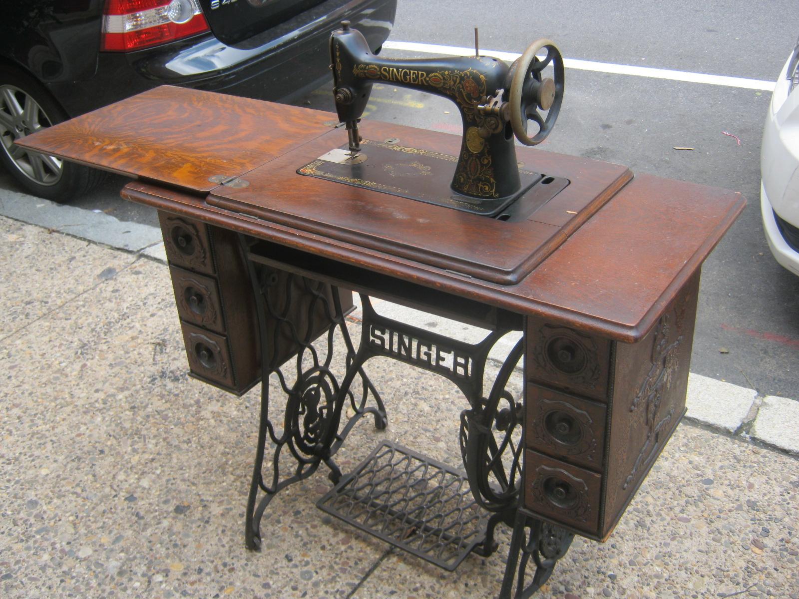 Uhuru Furniture Collectibles 1890s Singer Treadle