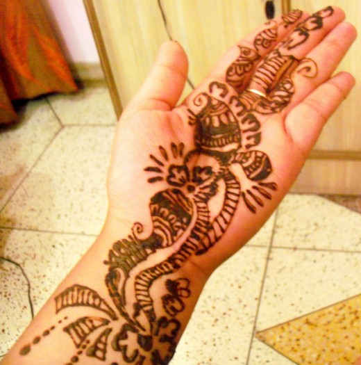 Mehndi Designs Easy For Girls : Mehndi designs for hands simple and beautiful