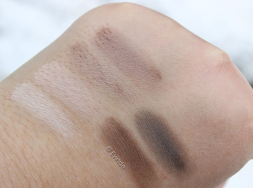catrice absolute matt palette swatches