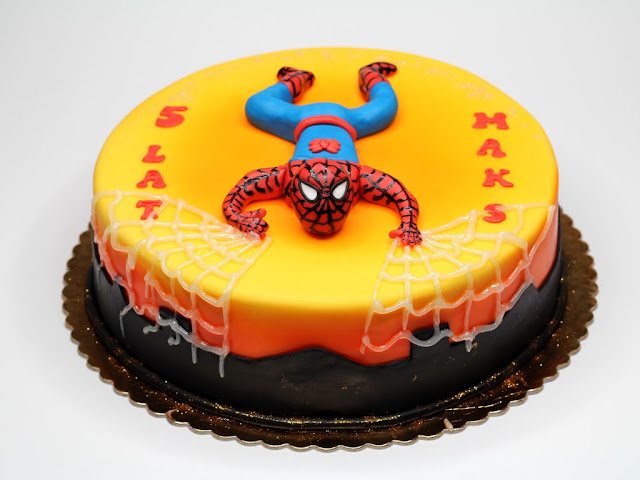 Spiderman Birthday Cake in Chelsea, London