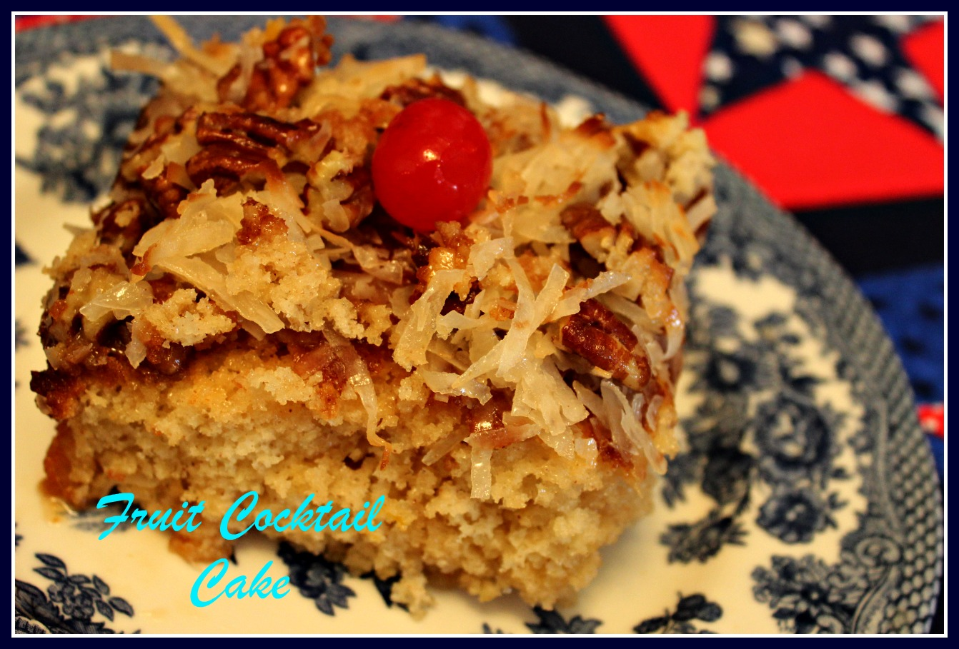 Pin Fruit Cocktail Butter Cake Cake on Pinterest