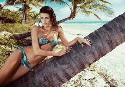 Isabeli Fontana Morena Rosa Swimwear Beach Fall/Winter 2013 Campaign