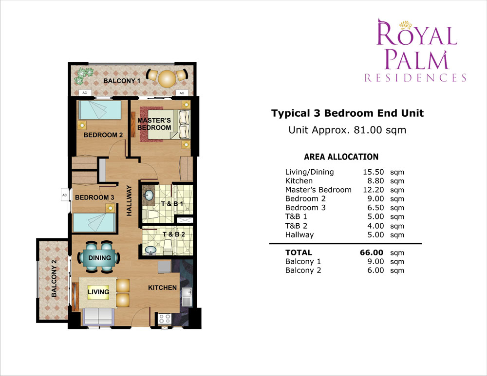 Dream 3 bedroom unit floor plans 20 photo home plans for 4 unit condo plans