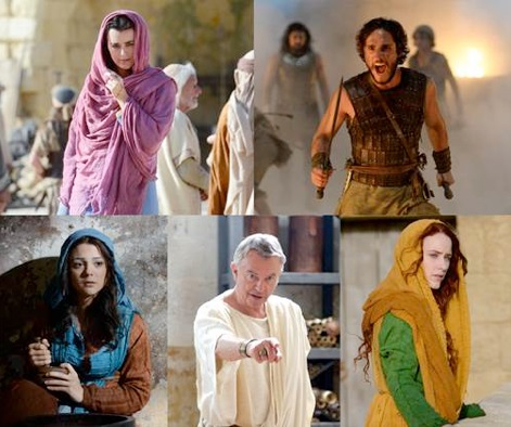 The Dove Keepers cast, TV series,