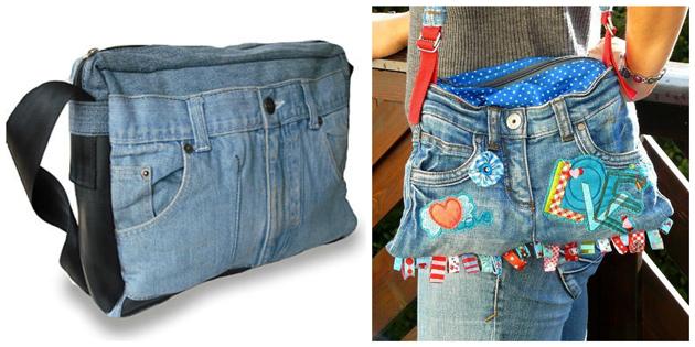 Sy din egen taske af et par jeans