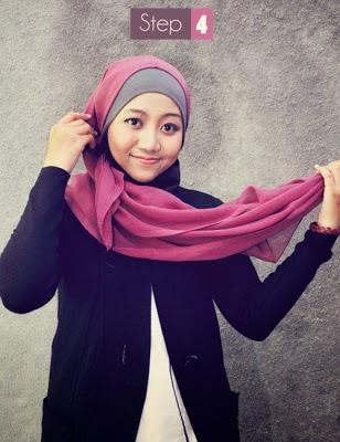 jilbab segi empat 4