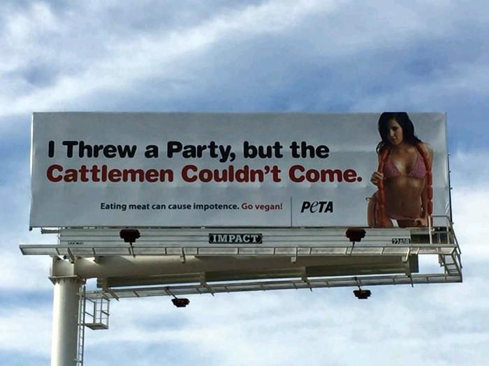Durango Texas Peta Throws No Party For Meat Eating Impotent Texas
