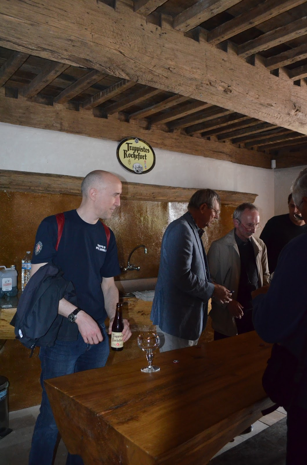 Ed's Beer Site: A visit to Rochefort brewery