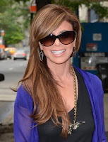 Paula Abdul's funky style with Sunglasses