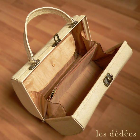 les dedees vintage recup creations le sac a main ann es 50 cr me et so chic by ben. Black Bedroom Furniture Sets. Home Design Ideas