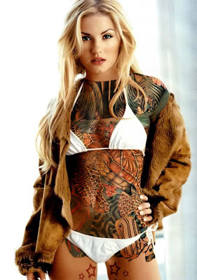 Full body tattoos on women xxx, party hardcore cumshots