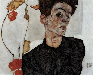 Autorretrato - Egon Schiele (Austria - Imperio Austrohúngaro)