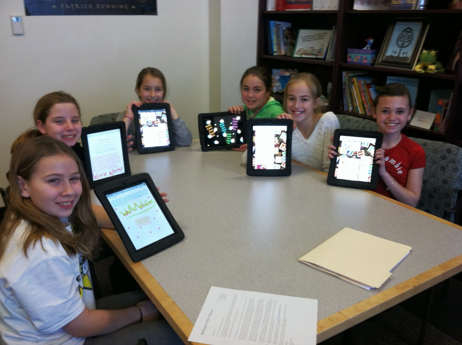 Memorial School: Check it out: Word Worm Blog