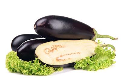eggpalnts and salad