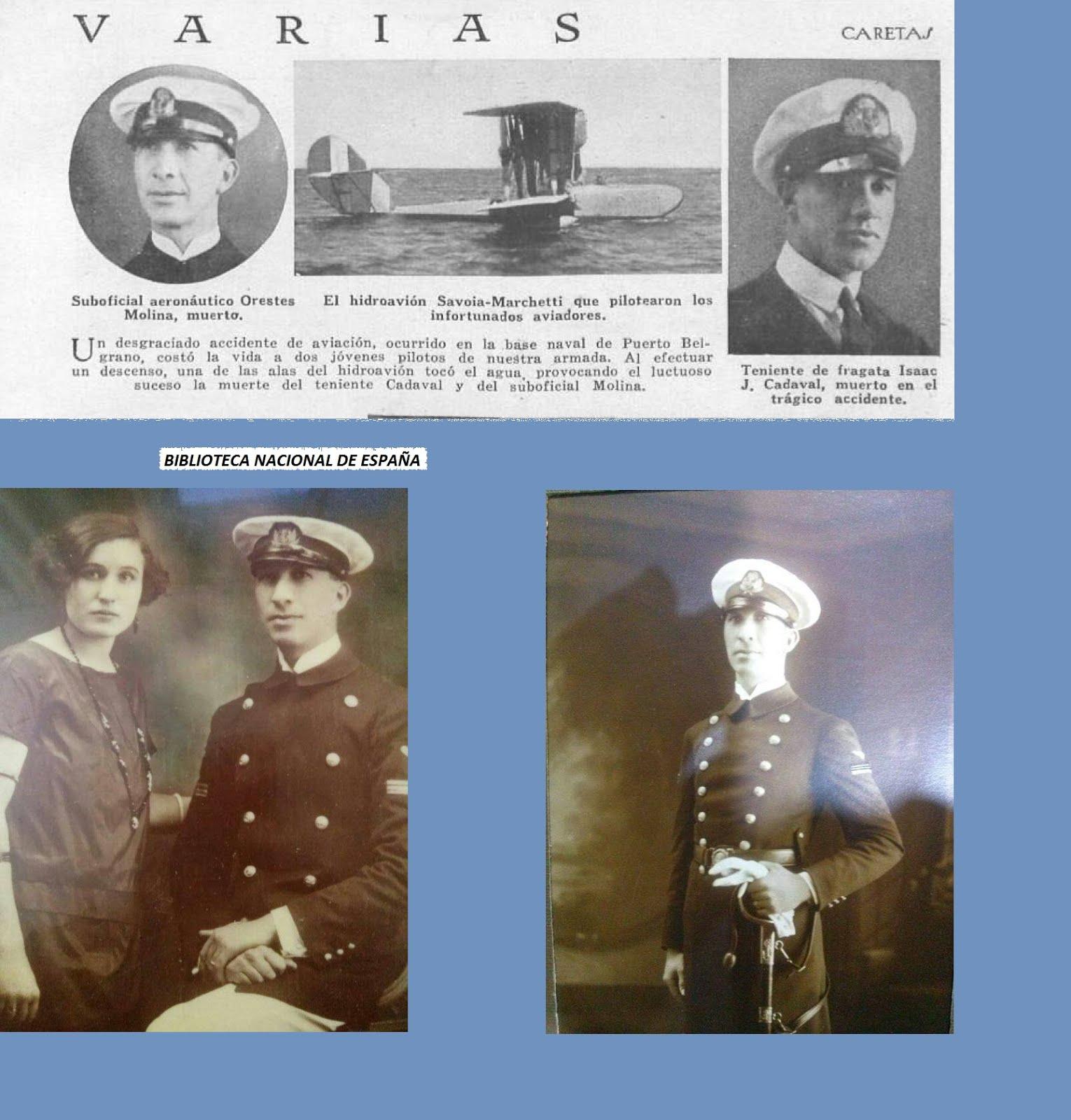 Centenario Aviación Naval Argentina: Heroicos mártires