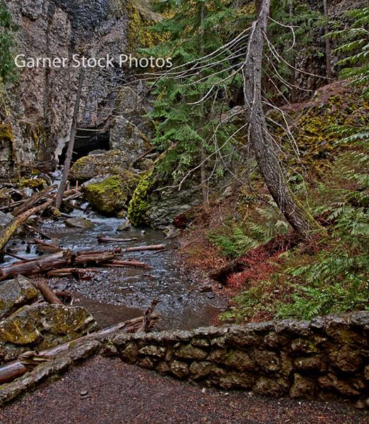 Stock and fine art photos forest landscape boulder cave for Landscaping rocks yakima