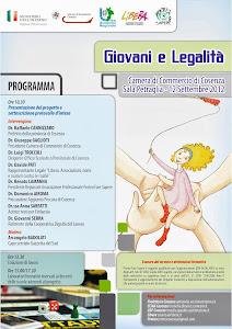 """L'evento inaugurale di """"Giovani e Legalità"""""""