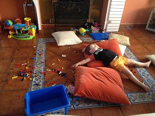 niños, vacaciones, verano, siesta