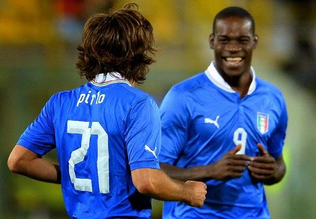 Ver partido Italia Balotelli Pirlo Mundial Brasil 2014 en vivo gratis online. Páginas web fútbol en directo sin cortes World Cup.