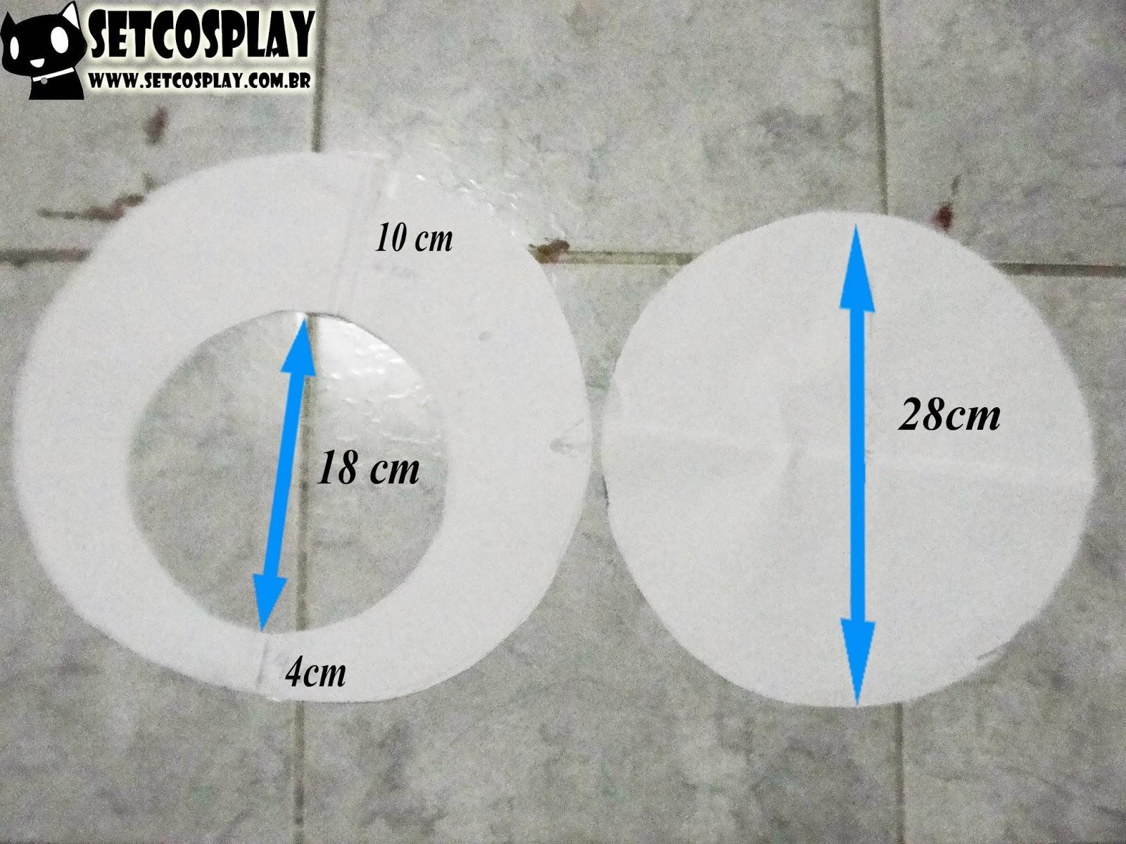 SetCosplay   TUTORIAL  Boina (Cap) do Luigi Mario + Roupa Cosplay f8f554a12bf