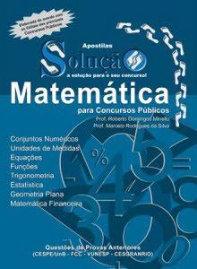 Apostila de Matemática para Concurso Público