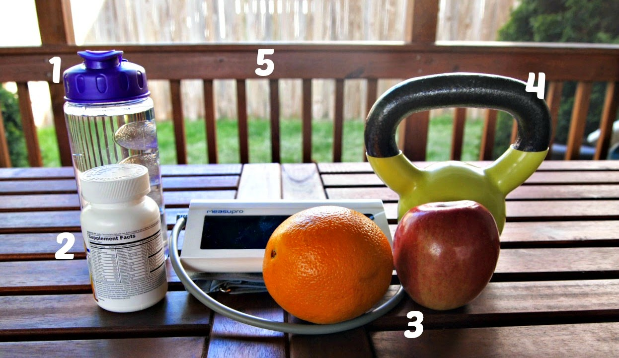 Five Ingredients to a Healthy Lifestyle