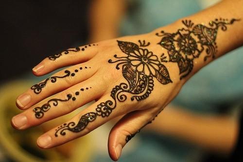 Henna Design Mason Jar Patterns