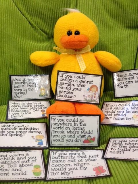 http://www.teacherspayteachers.com/Product/Spring-Question-Cards-Instacards-1137710
