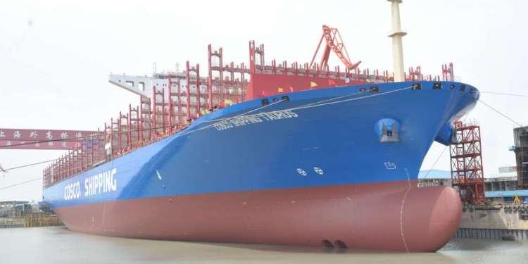 Στο λιμάνι του Πειραιά το επιβλητικό «Cosco Shipping Taurus»