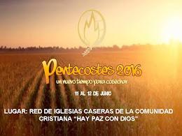 PENTECOSTÉS 2016