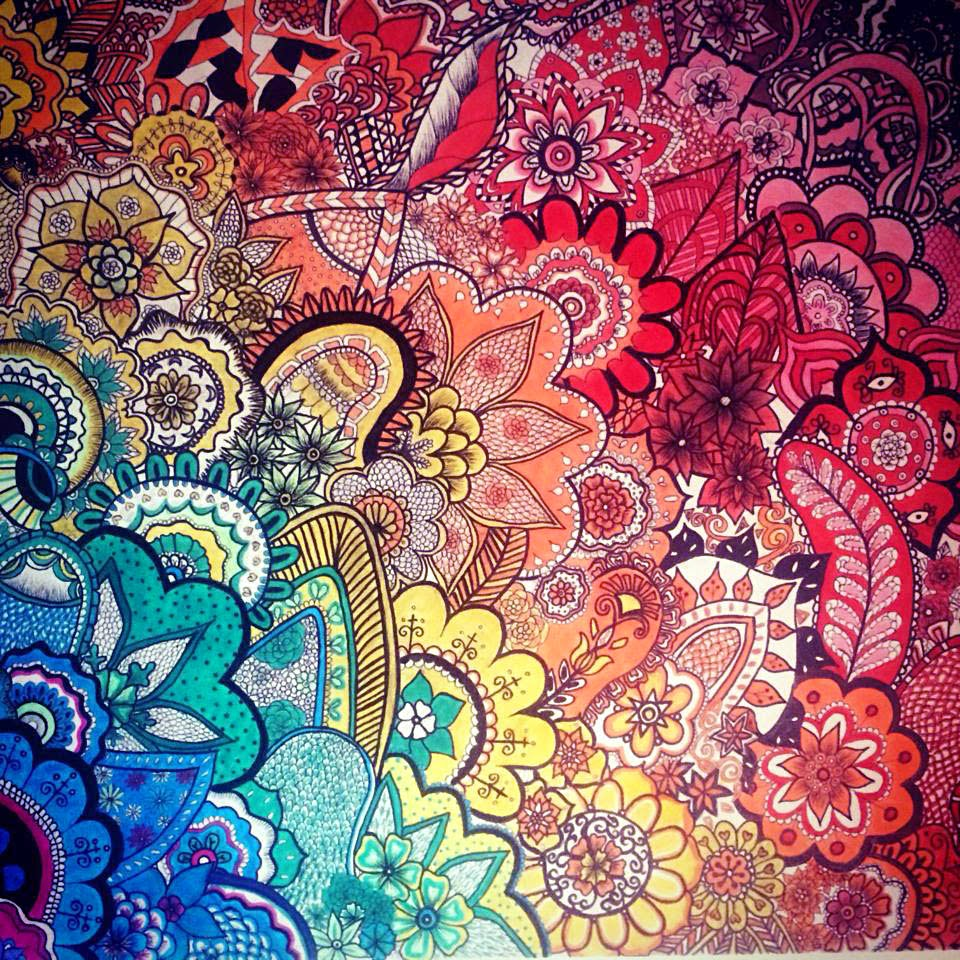 zendoodle, zentangle, zentangling