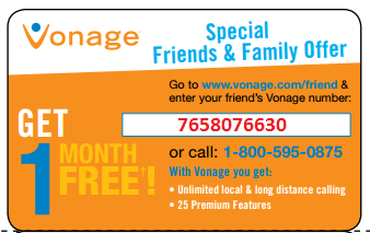 Get a $50 Amazon gift card when you sign up for any Vonage plan! Use promo code 50AMAZONCARD.